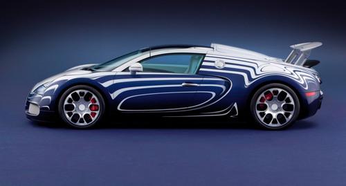 Bugatti Veyron Grand Sport L'Or Blanc Bugatti Veyron Grand Sport LOR 4