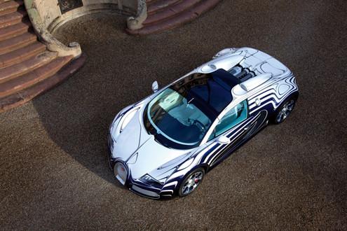 Bugatti Veyron Grand Sport L'Or Blanc Bugatti Veyron Grand Sport LOR 6