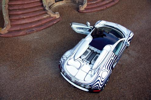Bugatti Veyron Grand Sport L'Or Blanc Bugatti Veyron Grand Sport LOR 7