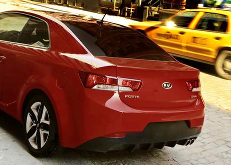 RearDrive V8Powered Kia Coupe Concept  Report