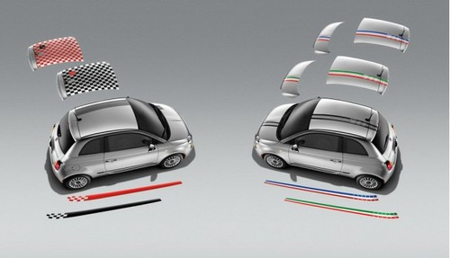 Fiat 500 Gets Mopar Accessories