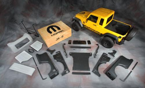 Mopar JK 8 Jeep Wrangler Pickup Conversion Kit 2