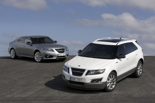 Saab 9 4X Crossover at Saab 9 4X Crossover Earns Top Safety Pick Award