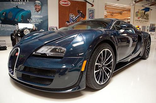 bugatti veyron supersport at jay leno 39 s garage video. Black Bedroom Furniture Sets. Home Design Ideas