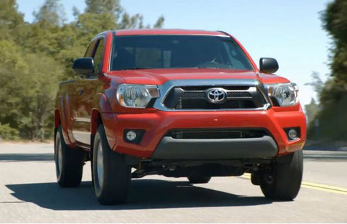 2012 Toyota Tacoma 1 Information and some of the first pictures of the new 2012 Toyota Tacoma