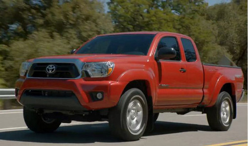 2012 Toyota Tacoma 2 Information and some of the first pictures of the new 2012 Toyota Tacoma