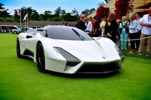 Pics: SSC Tuatara at 2011 Pebble Beach Concours SSC Tuatara at the 2011 Concours dElegance 1