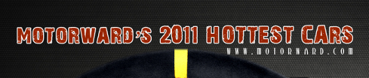 2011 best cars MW top at Motorwards 2011 Hottest Cars: Infographic