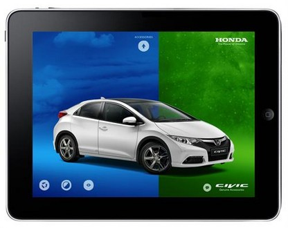 Honda Civic 2012 Accessory Catalogue Goes Digital 9th