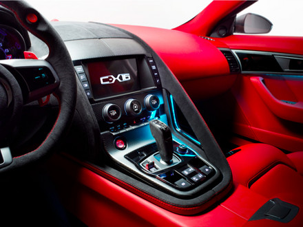 Jaguar C-X16 Interior