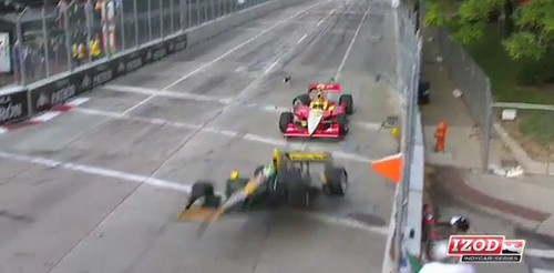 indycar crash at Video: Tony Kanaans 180mph IndyCar Crash