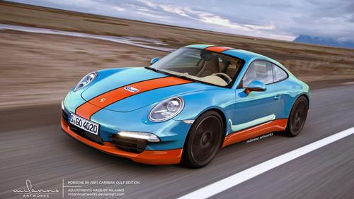 The new Gulf's Porsche 911 991 RSR GTE | #86 Gulf Racing UK … | Flickr