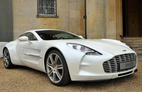 Aston Martin One 77 at Megafactories Aston Martin One 77   Videos