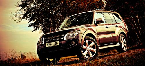 Mitsubishi Shogun at New Mitsubishi Shogun Hits UK Market