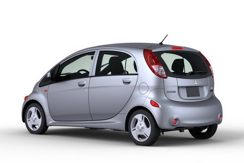 Mitsubishi i MiEV US spec 2 at US Spec Mitsubishi i MiEV Production Begins