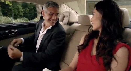 clooney E class at George Clooney Chinese Mercedes E Class Commercial