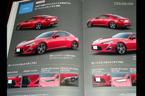New Toyota FT 86 Pictures Leaked Online new ft 2