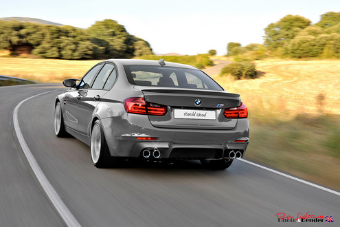 new m3 rendering 3 at Renderings: 2013 BMW M3