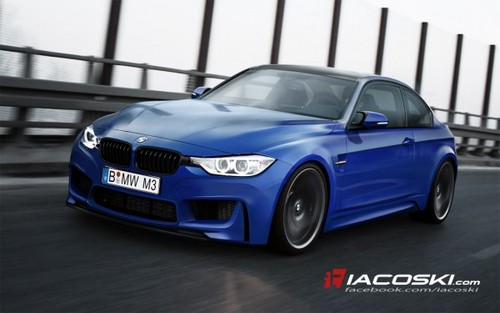 2014 BMW M3 Renderings