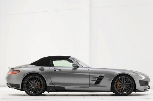 brabus sls r 2 at 700 hp Brabus Mercedes SLS Roadster Unveiled