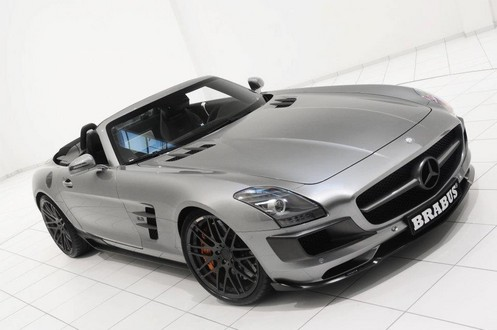 brabus sls r 3 at 700 hp Brabus Mercedes SLS Roadster Unveiled
