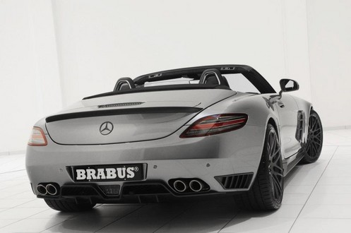 brabus sls r 4 at 700 hp Brabus Mercedes SLS Roadster Unveiled