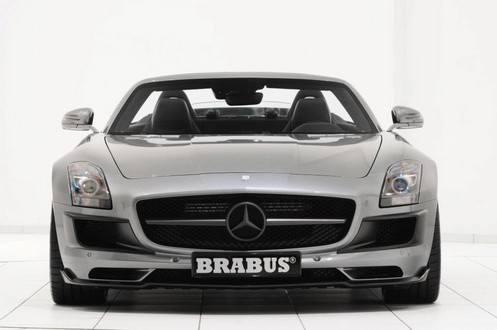 brabus sls r 5 at 700 hp Brabus Mercedes SLS Roadster Unveiled