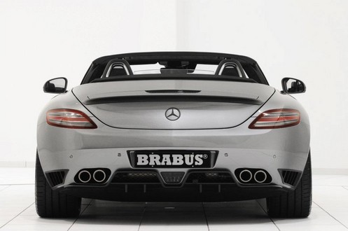 brabus sls r 6 at 700 hp Brabus Mercedes SLS Roadster Unveiled