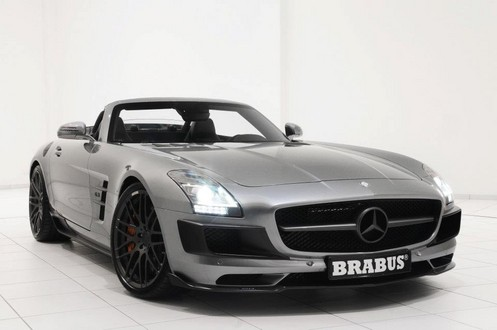 brabus sls r 7 at 700 hp Brabus Mercedes SLS Roadster Unveiled