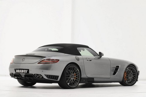 brabus sls r 8 at 700 hp Brabus Mercedes SLS Roadster Unveiled