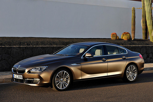 Official: BMW 6 Series Gran Coupe BMW 6 Series Gran Coupe 0
