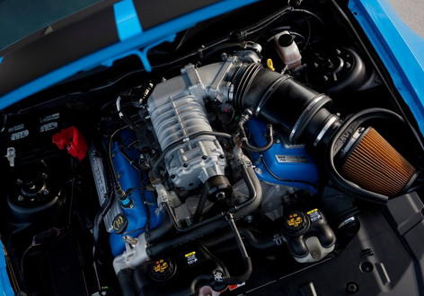 gt500 engine at Shelby GT500 or Camaro ZL1   Which Is Better