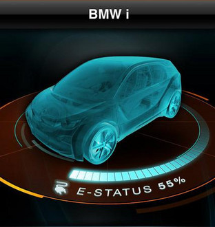 BMW i Smartphone App 1 BMW i Smartphone App Preview