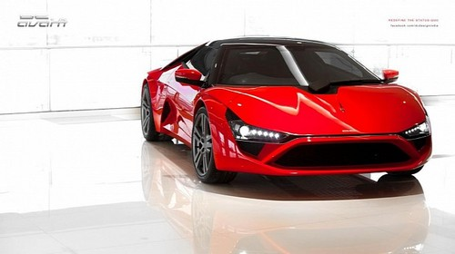 Indias DC Design Avanti Supercar Revealed DC Design Avanti supercar 1