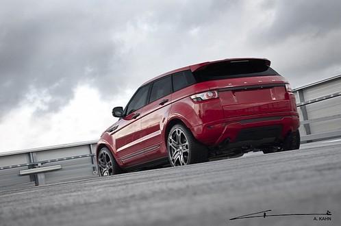 Kahn Design Range Rover Evoque Red