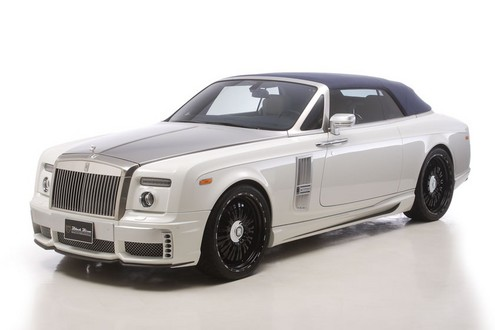 Rolls Royce Phantom Drophead Black Bison WALD 1 Wald Rolls Royce Phantom Drophead