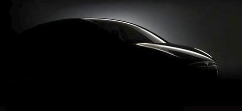 Tesla Model X Crossover teaser Tesla Model X Crossover Teaser Released
