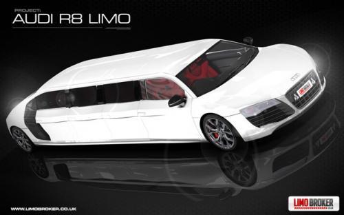 Limo Broker To Make World S First Audi R8 Limo