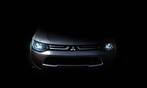 mitusbishi geneva at Mitsubishi Teases Geneva Bound Premium Model