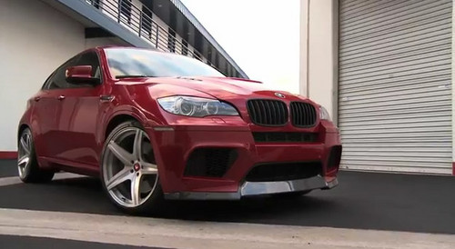 vorst x6m Vorsteiner BMW X6M Video Released