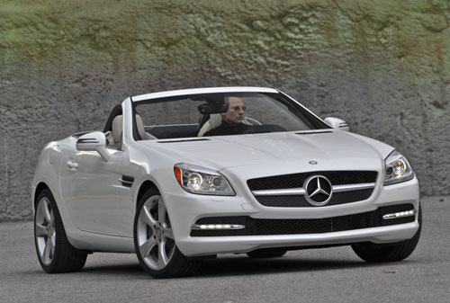 2012 Mercedes Benz SLK350 at History of Mercedes