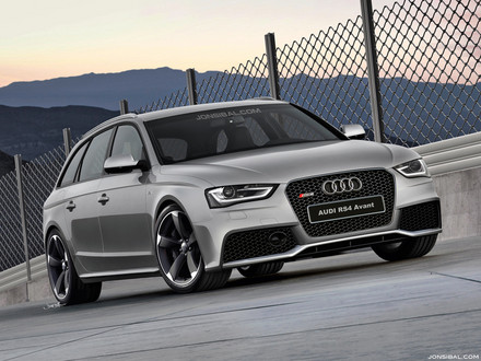 Audi on Audi Is Yet To Confirm Debut Of A New Rs4 Avant At The 2012 Geneva