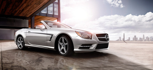 2013 SL Class Roadster OH3 at 2013 Mercedes SL Academy Awards Commercial