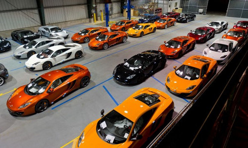 MP4 Arrives In America at McLaren MP4 12C Arrives In America: Video
