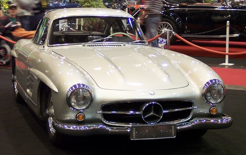 Mercedes 300 SL Coupe VR at History of Mercedes