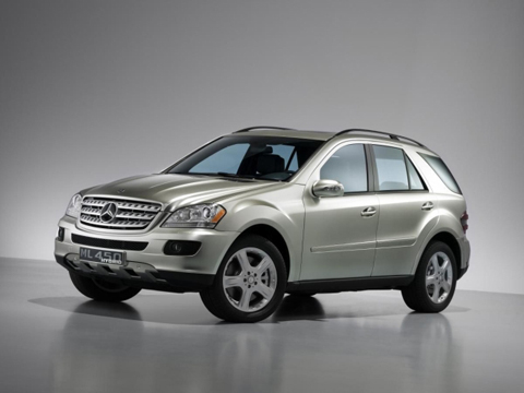 Mercedes Benz ML450 Hybrid at History of Mercedes