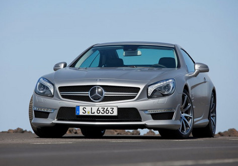 Mercedes Benz SL63 AMG at 2013 Mercedes SL63: First Official Videos
