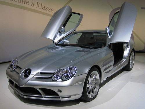 Mercedes Benz SLR McLaren at History of Mercedes