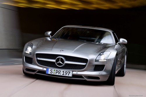 Mercedes SLS AMG at History of Mercedes
