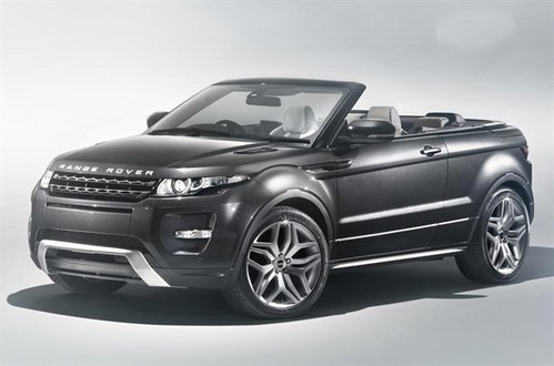 Range Rover Evoque Convertible 1 Range Rover Evoque Convertible Revealed